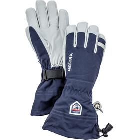 Hestra Army Leather Heli Ski Gloves 5-Finger Marin